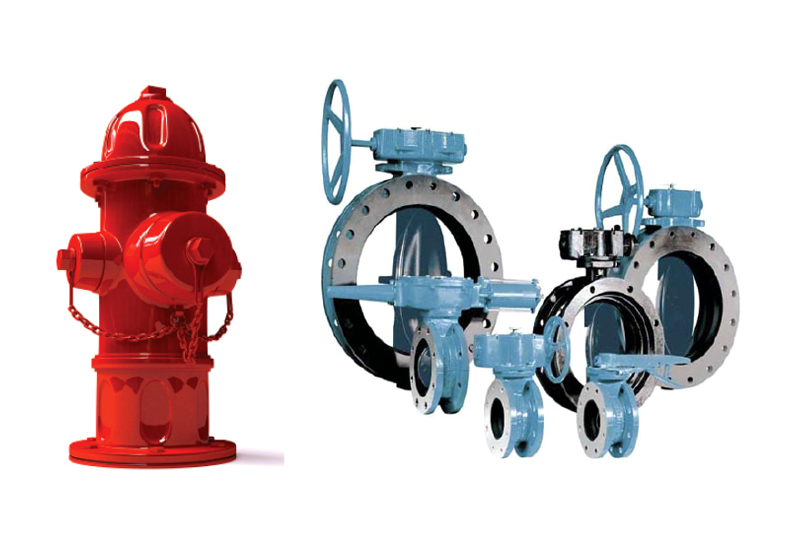 Valves and Fire Hydrants